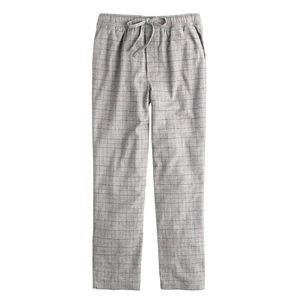 J.Crew Flannel sleep pant in engine red check
